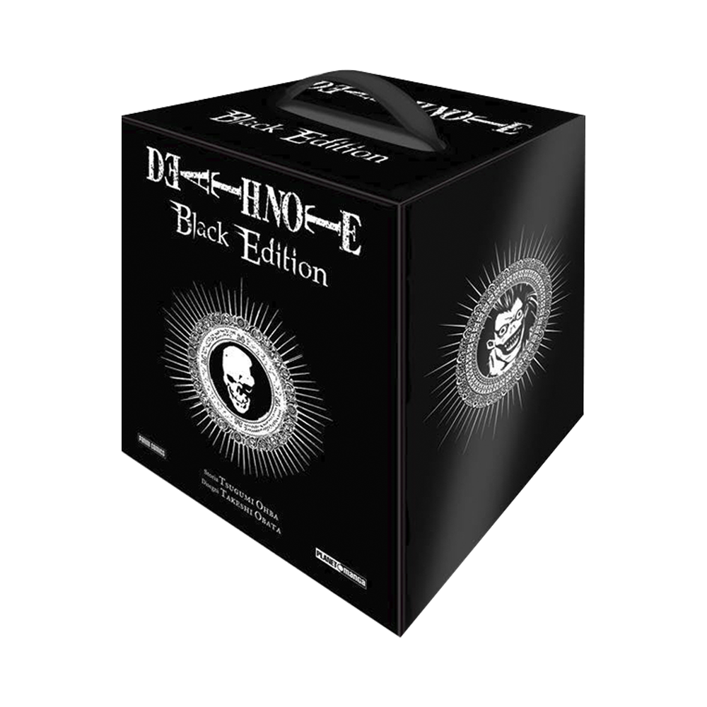 Death Note – Cofanetto Black Edition Seconda Ristampa