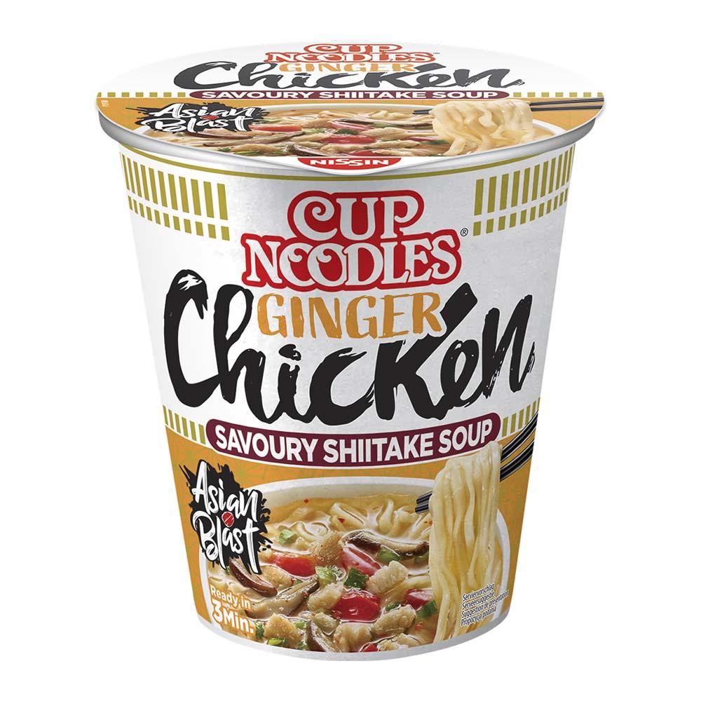 Cup Noodles Pollo allo Zenzero
