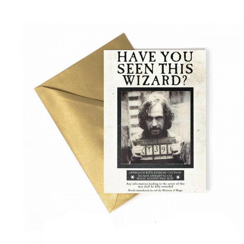 Biglietto di Auguri Lenticolare - Sirius Black