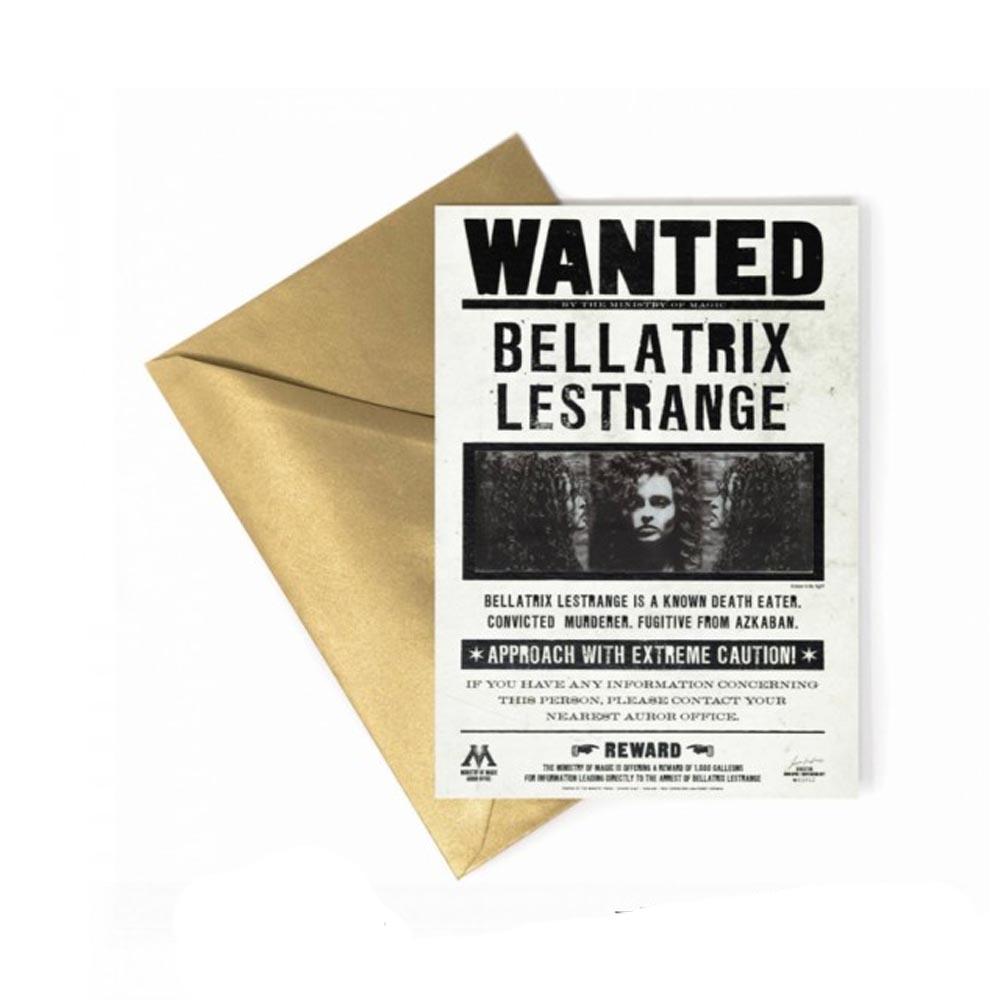 Biglietto di Auguri Lenticolare - Bellatrix Lestrange
