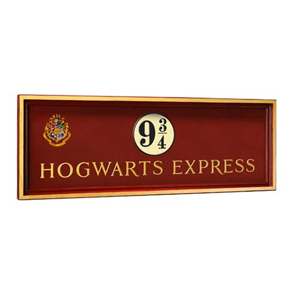 Placca murale Hogwarts 9 3/4