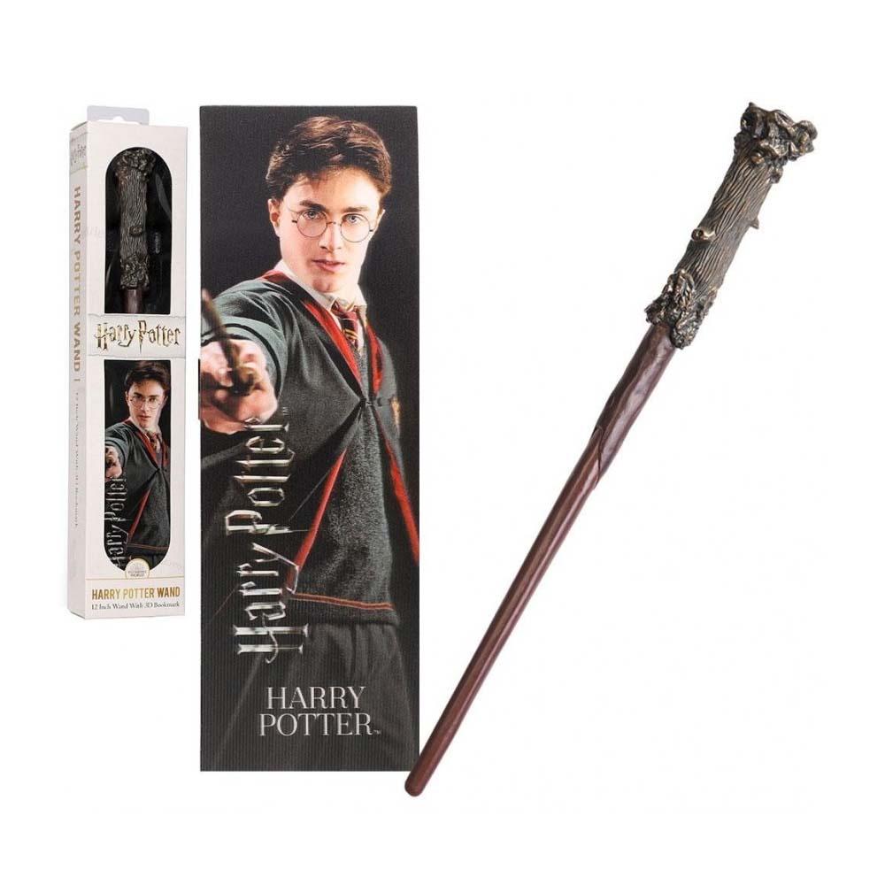 Bacchetta PVC & Segnalibro - Harry Potter