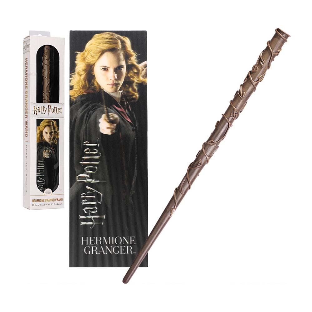 Bacchetta PVC & Segnalibro - Hermione Granger