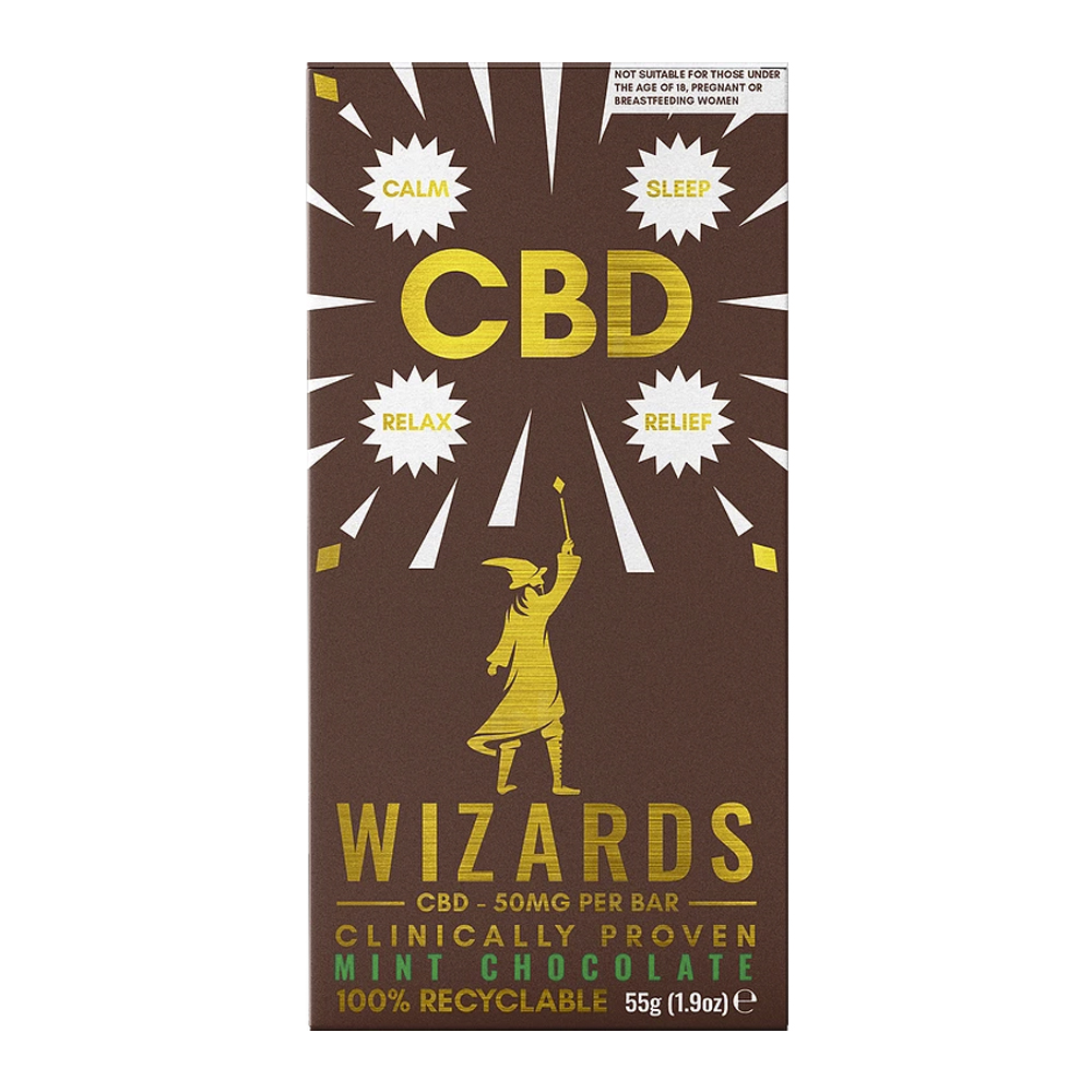 The Wizards CBD - Mint Chocolate