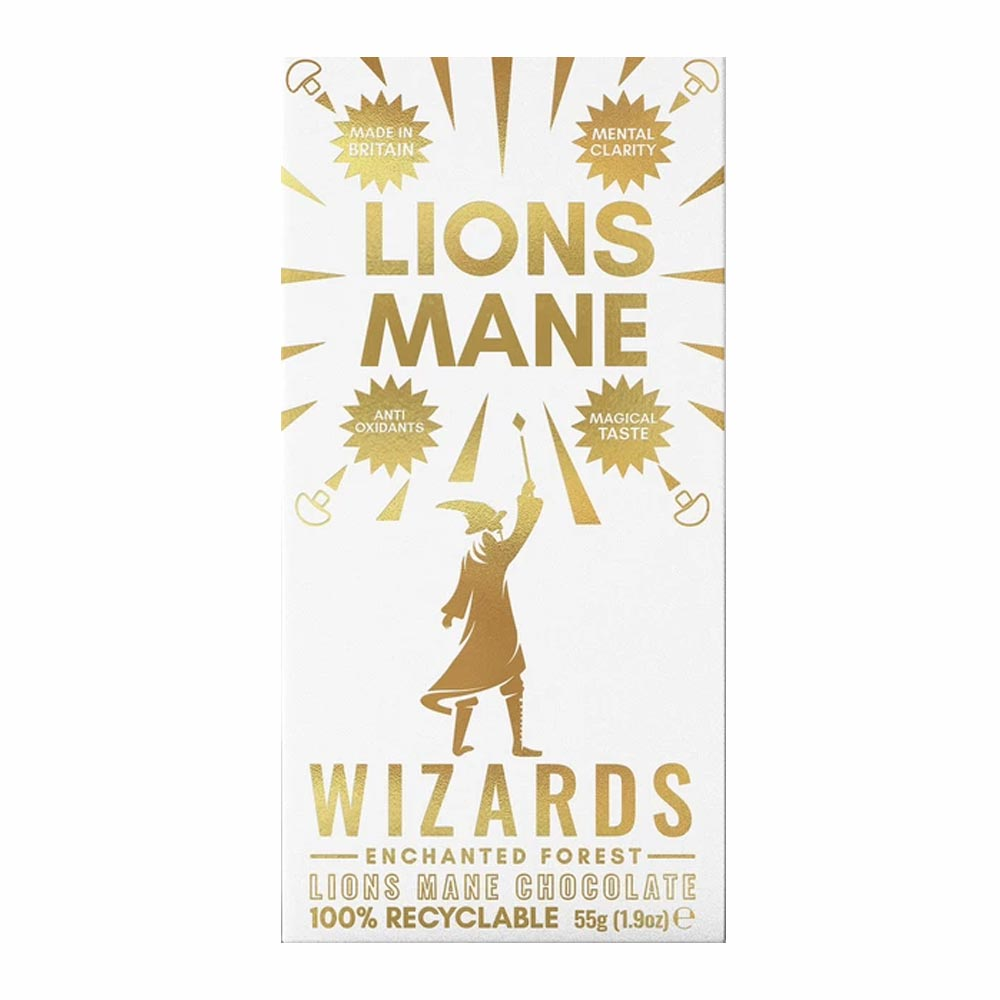The Wizards Enchanted Forest - Lion's Mane Chocolate