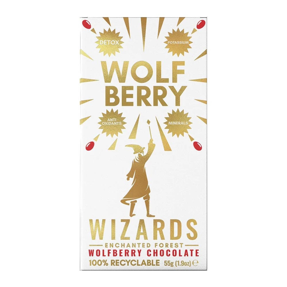 The Wizards Enchanted Forest - Wolfberry Chocolate