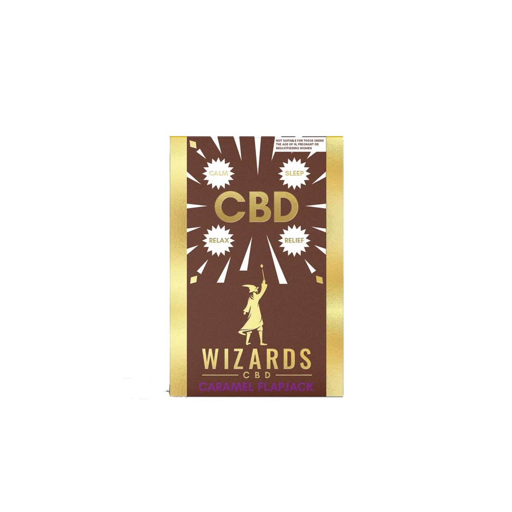 The Wizards CBD - Caramel Flapjack