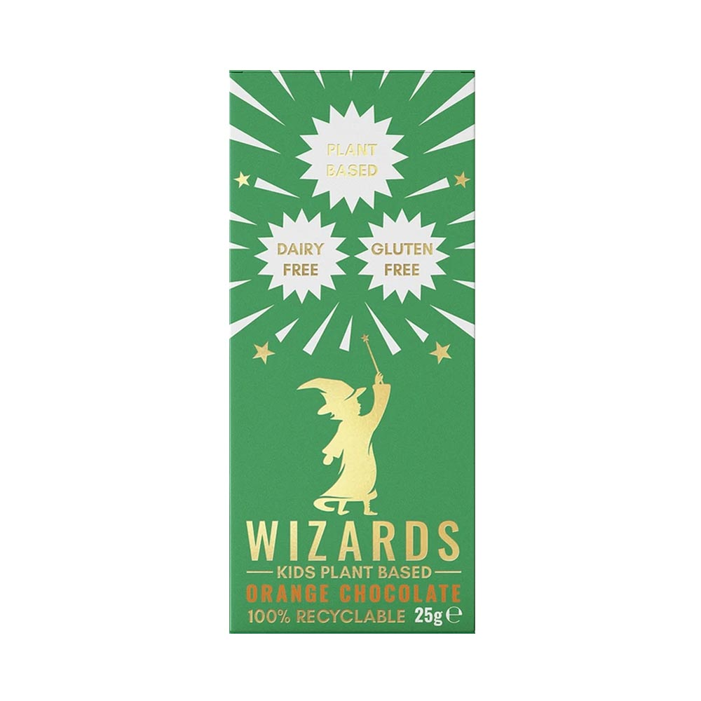 The Wizards Kids Plant Based - Orange Chocolate