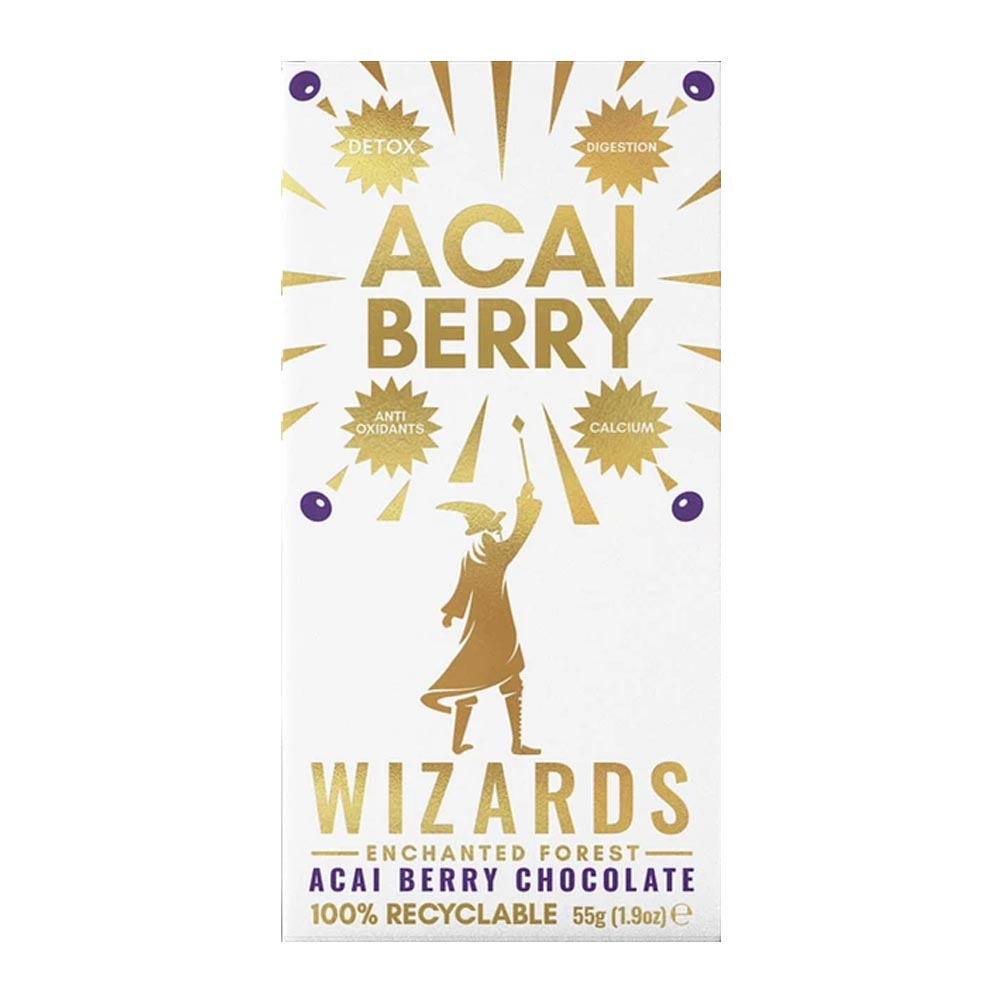 The Wizards Enchanted Forest - Açai Berry Chocolate