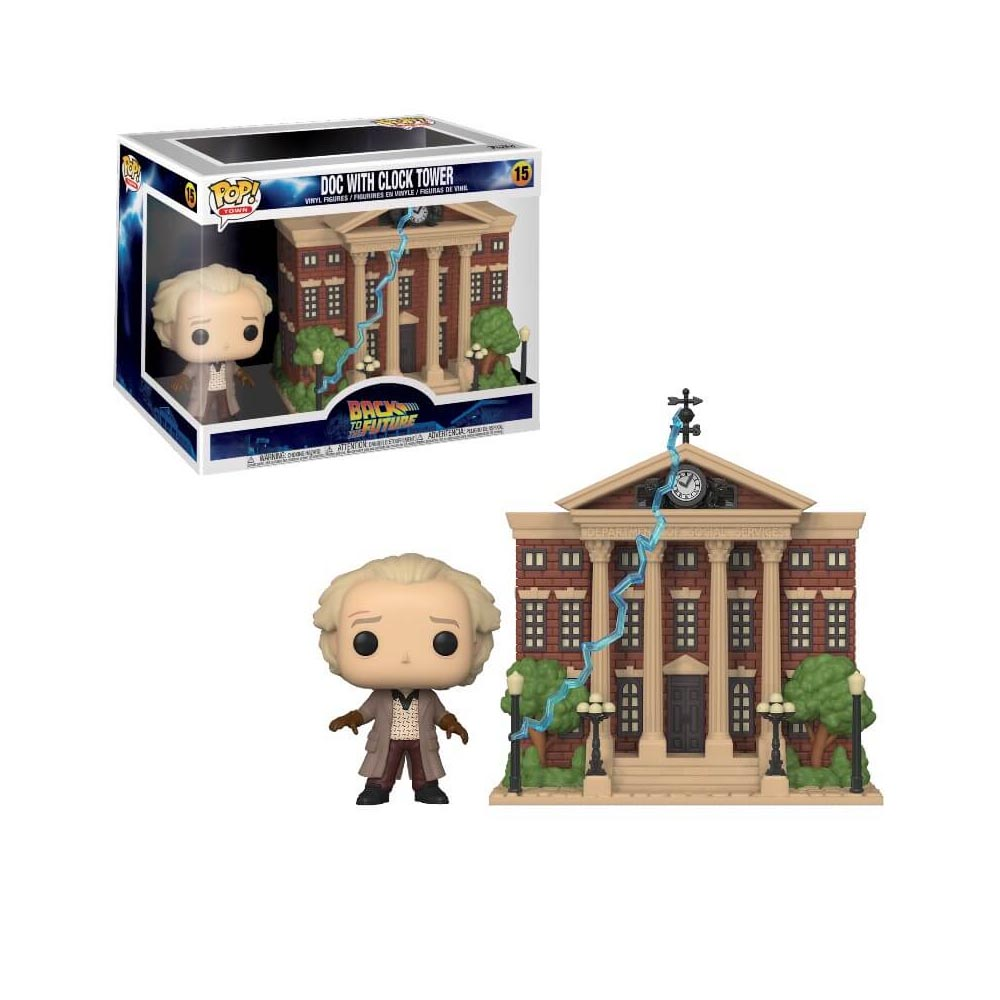Funko Pop! Back to the Future - Doc with Clock Tower 15