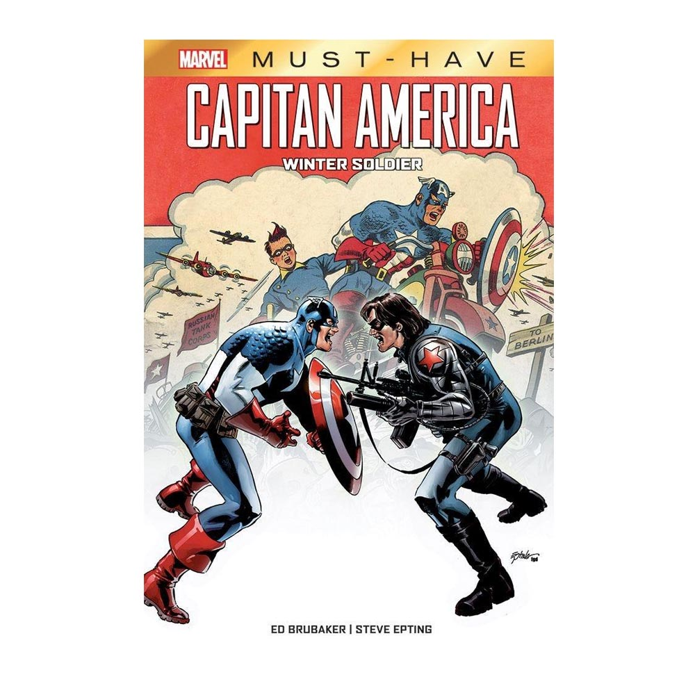 Capitan America: Winter Soldier (Marvel Must-Have)