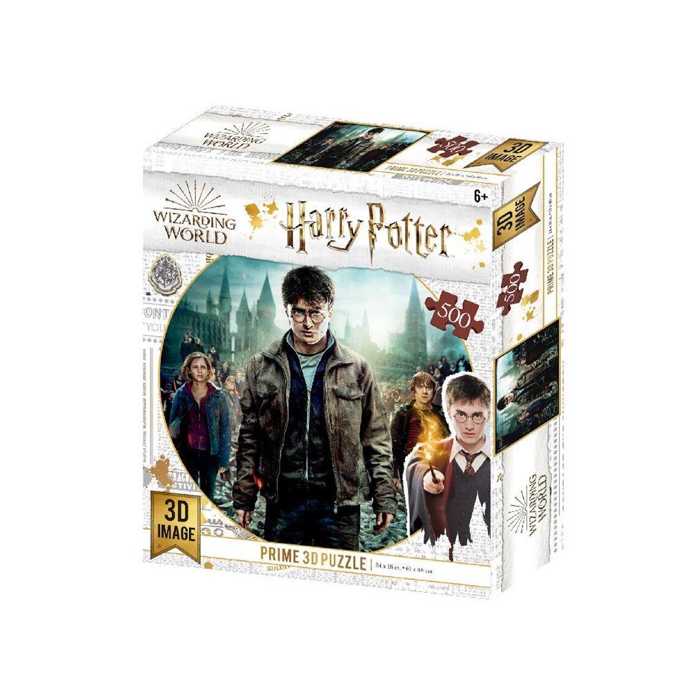 Puzzle Lenticolare 3D Harry Potter Trio