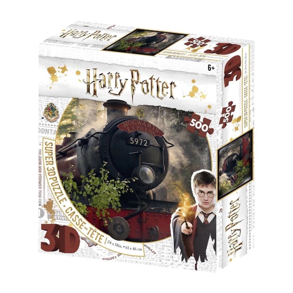 Puzzle Lenticolare 3D Hogwarts Express (500 pezzi)