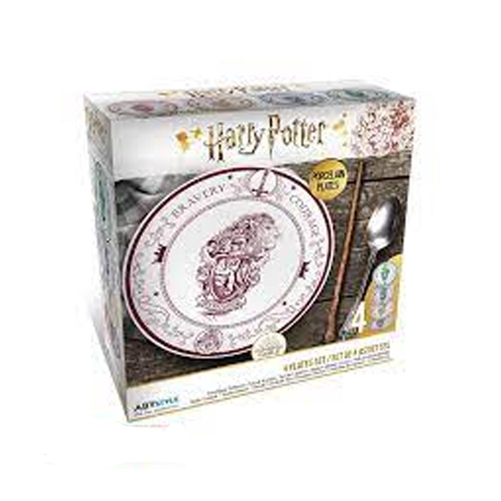 Set di piatti Case di Hogwarts (21 cm)