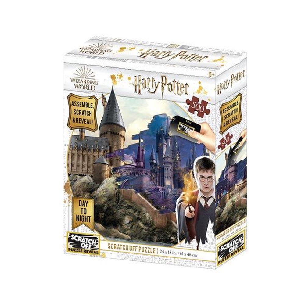 Scratch Off Puzzle Hogwarts (Gratta&scopri)