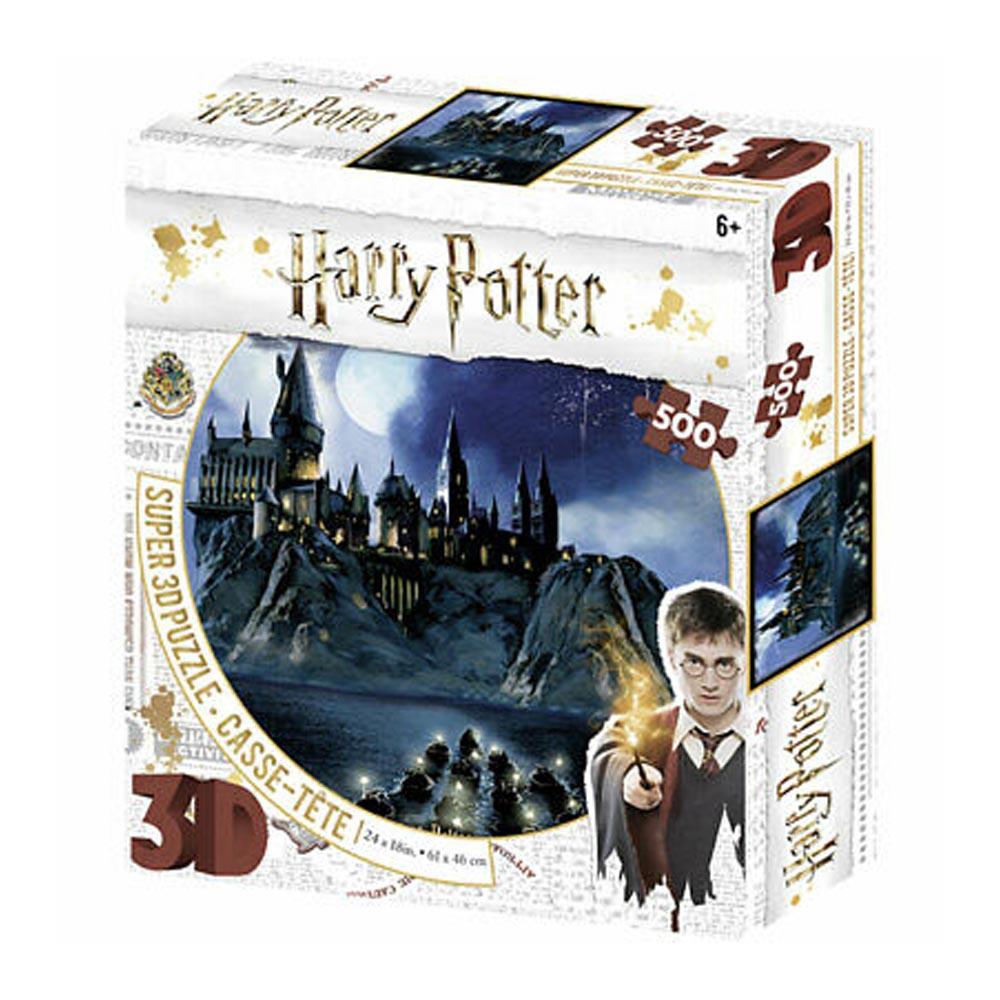 Puzzle Lenticolare 3D Hogwarts (500 pezzi)
