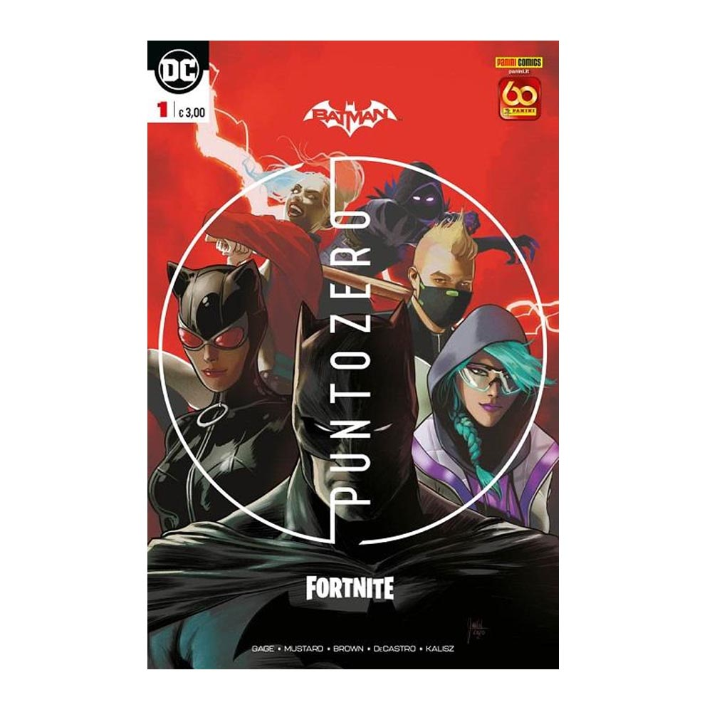 Batman / Fortnite: Punto Zero