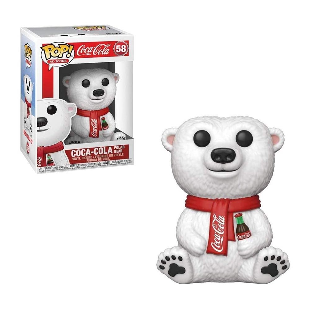 Funko POP! Coca-Cola Polar Bear 58