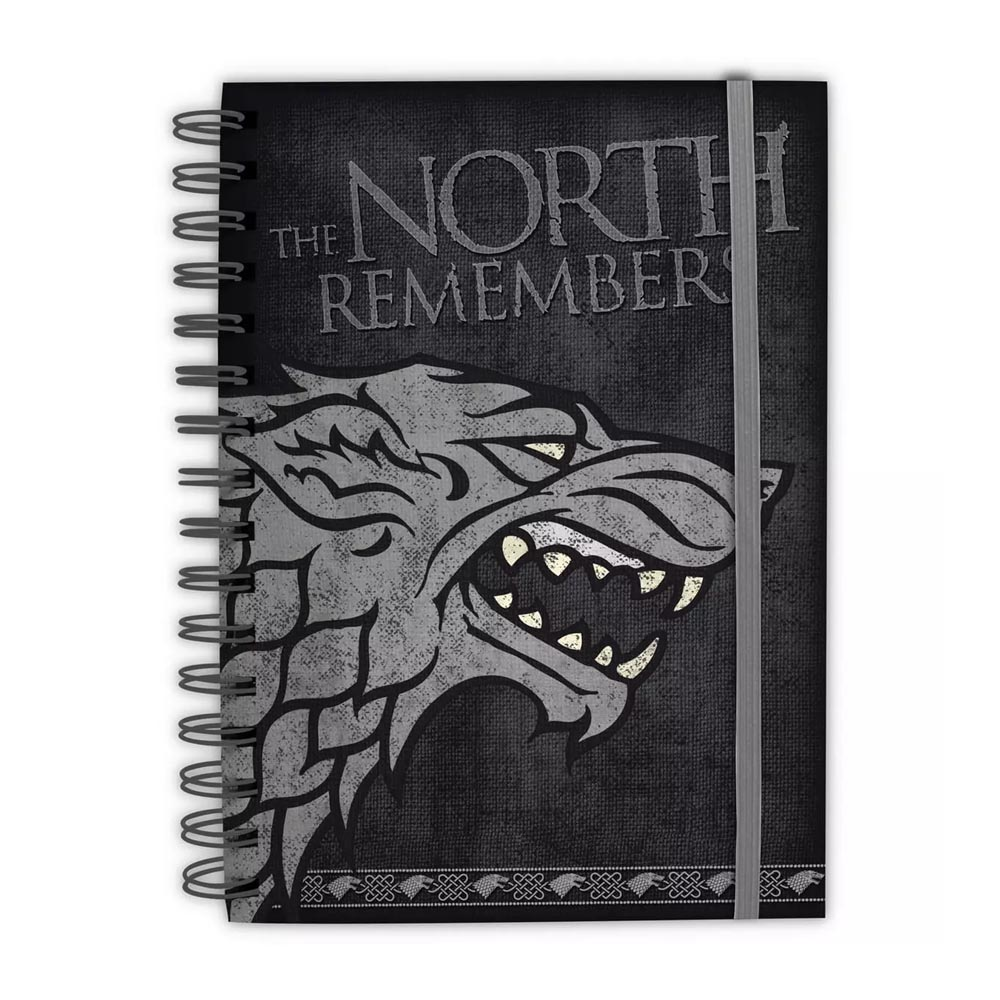 Game of Thrones - Quaderno ad anelli Stark (A5)