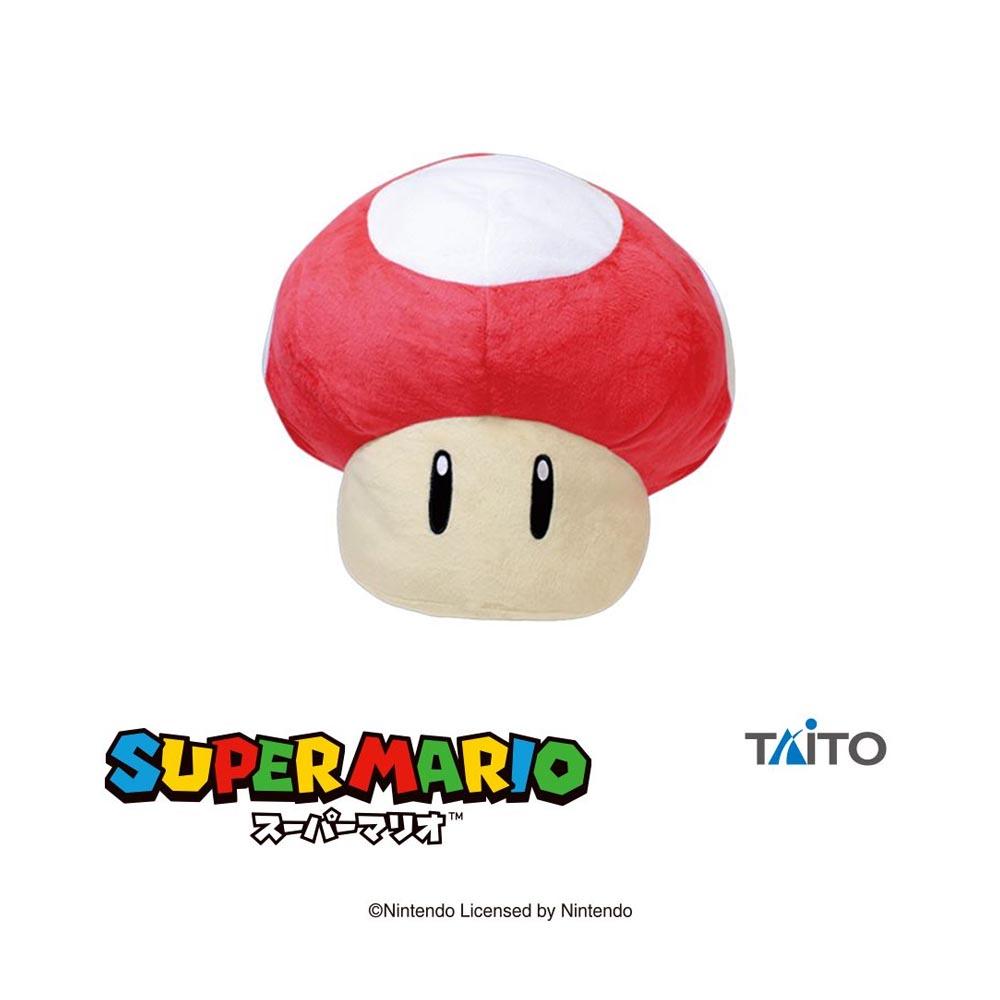 Super Mario - Peluche Fungo A (Rosso)