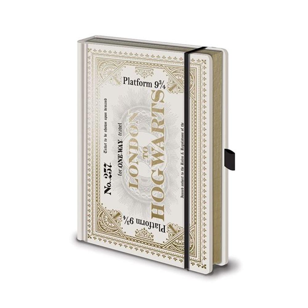 Notebook A5 Premium - Biglietto Hogwarts Express