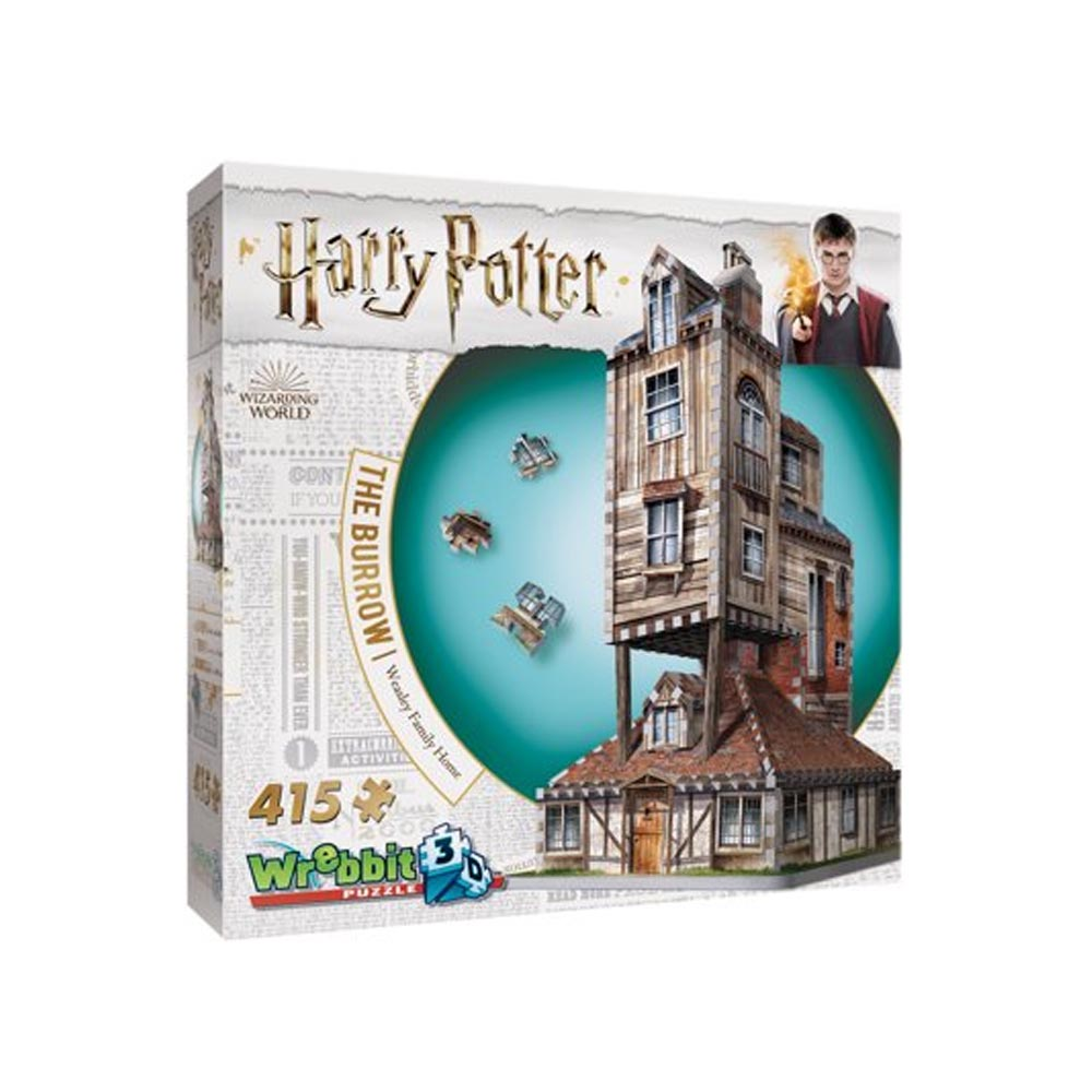 Puzzle 3D Wrebbit - La Tana