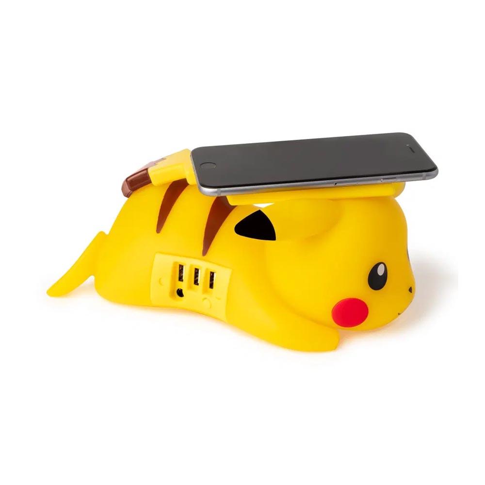 Caricatore Wireless e USB Pikachu