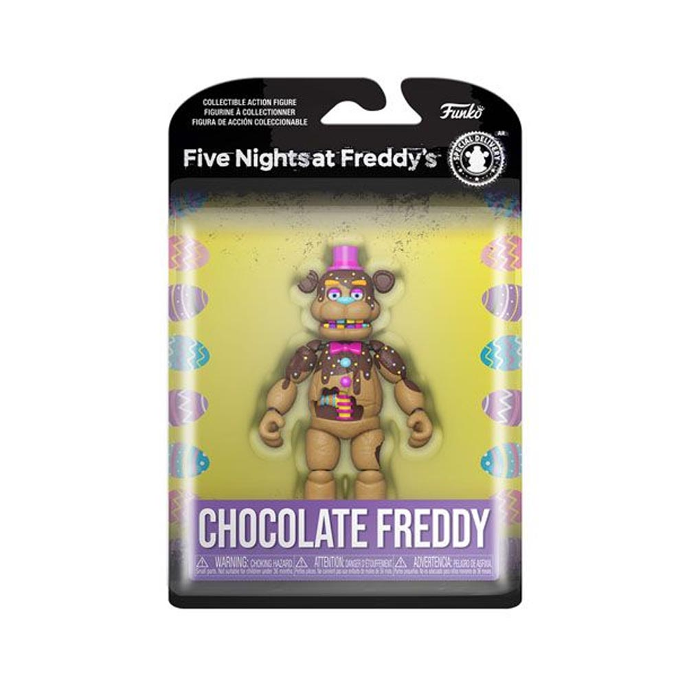 Five Nights at Freddy's - Action Figure Chocolate Freddy (13 cm)