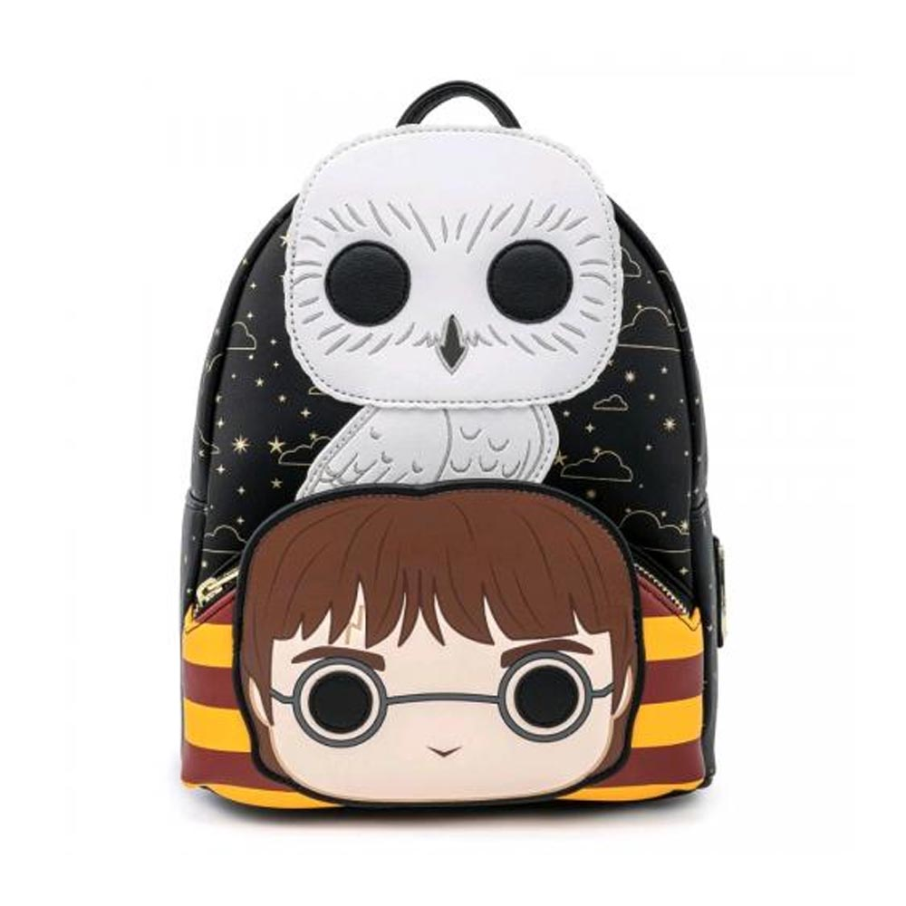 Zaino POP! Harry Potter & Hedwig Loungefly