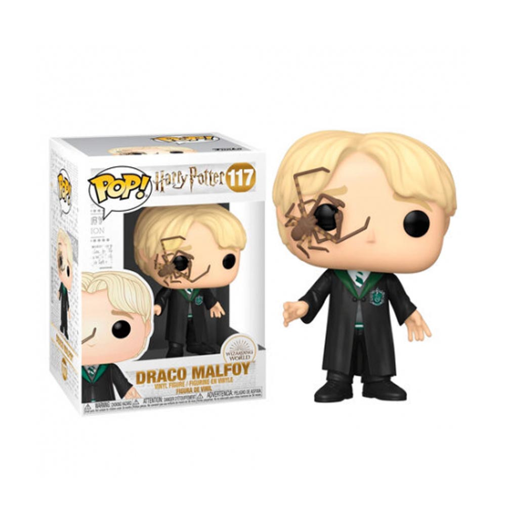 Funko POP! Harry Potter - Draco Malfoy with Whip Spider 117