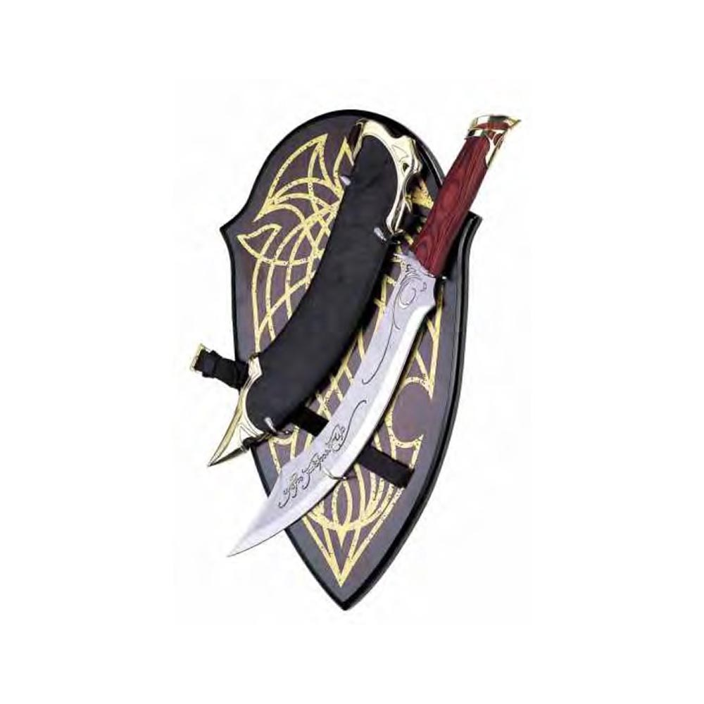 Pugnale Aragorn con pannello (Il Signore degli Anelli)