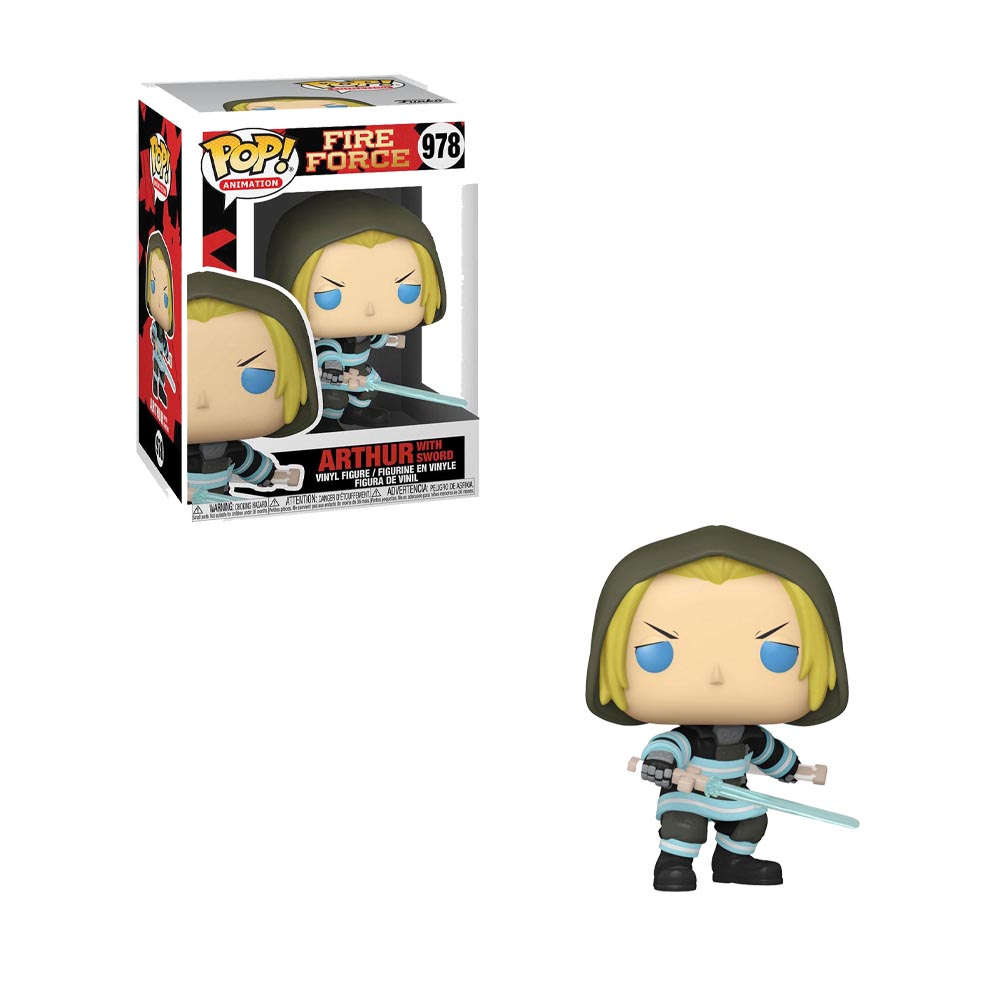 Fire Force - Funko POP! 978 - Arthur with Sword (preorder)