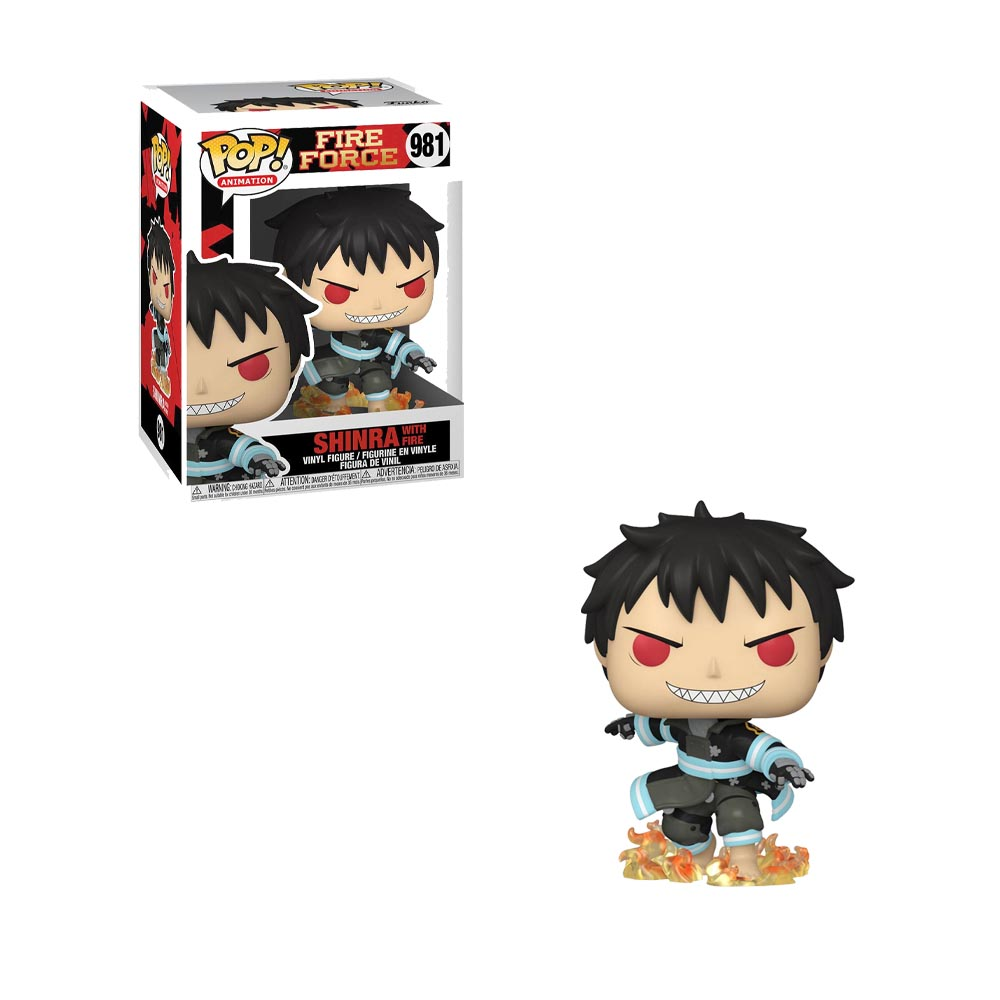 Fire Force - Funko POP! 981 - Shinra with Fire (preorder)