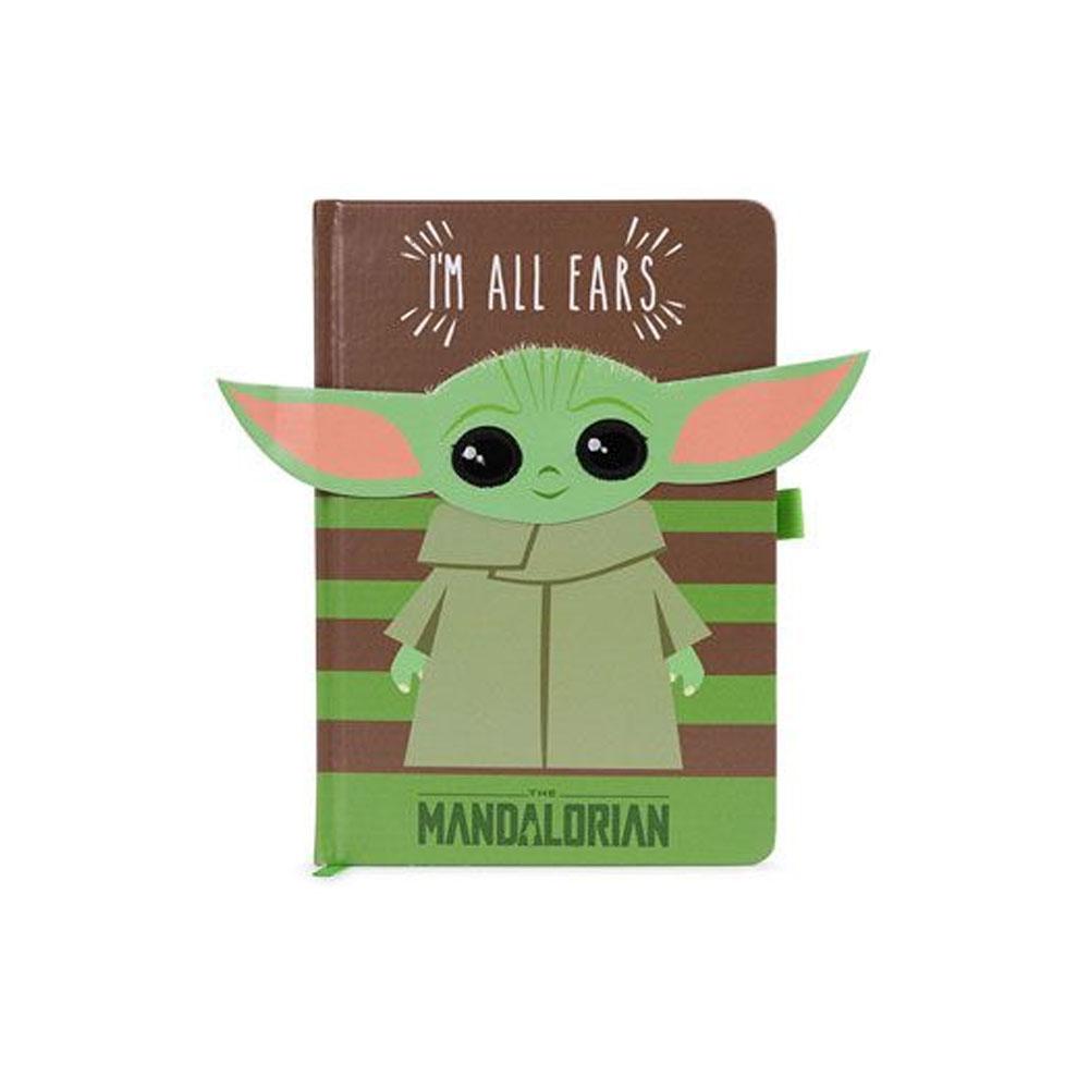 The Mandalorian - Notebook A5 Baby Yoda