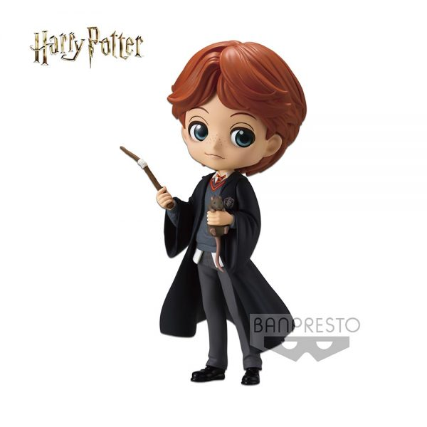 Harry Potter - Q Posket - Ron Weasley with Scabbers (preorder)