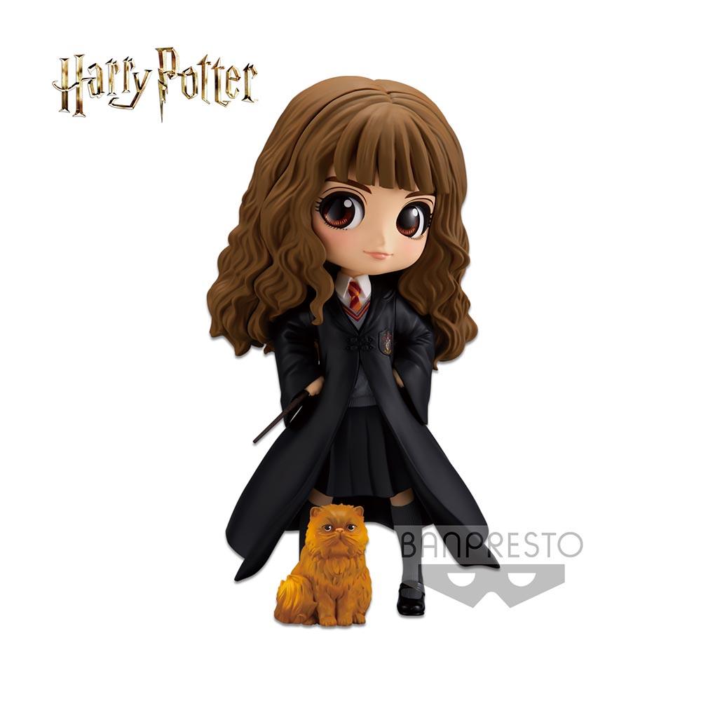 Harry Potter - Q Posket - Hermione Granger with Crookshanks (preorder)