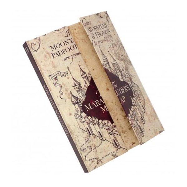 Notebook Magnetico Mappa del Malandrino